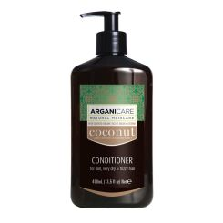 Arganicare Conditioner For Dull, Very Dry & Frizzy Hair - Argan & Coconut 400 Ml