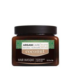 Arganicare Hair Masque For Dull, Very Dry & Frizzy Hair - Argan & Coconut 500 Ml