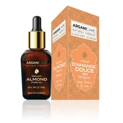 Arganicare 3-1 Sweet Almond Organic Oil 30 Ml
