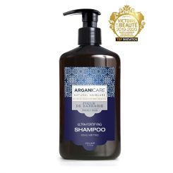 Arganicare Ultra-Fortifying Shampoo For All Hair Types - Argan & Prickly Pear 400 Ml