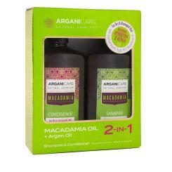 Arganicare Hydrating & Smooth Hair Kit - Macadamia