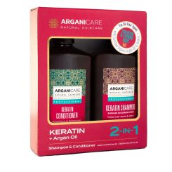 Arganicare Total Repair & Strong Hair Kit - Keratin