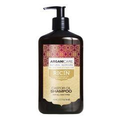 Arganicare Castor Oil Shampoo For All Hair Types - Argan & Castor 400 Ml