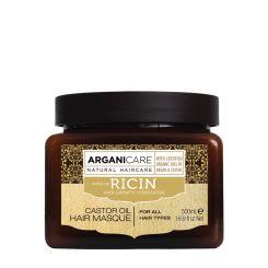 Arganicare Castor Oil Hair Masque For All Hair Types - Argan & Castor 500 Ml