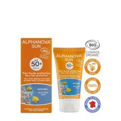 Alphanova Bio Spf 50+ Face Cream Tube Summer-Winter  50G