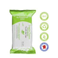 Alphanova Natural Wipes 72Stuks