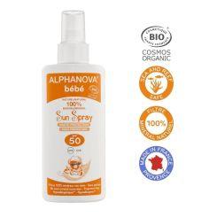 Alphanova Bio Spf 50 Bebe Hypoallergenic Spray 125G