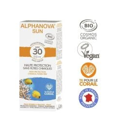 Alphanova Bio Spf 30 Allergische Empfindliche Haut - Waterproof