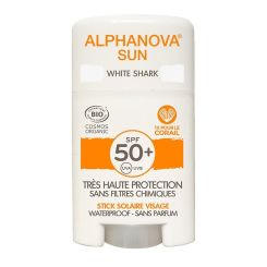 Alphanova Bio Spf 50+ Face Sun Stick - White