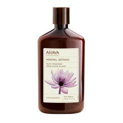 Ahava Mineral Botanic Cream Wash Lotus 500Ml